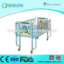 DW-CB01 Hot Sell lit d'hôpital de qualité avec roues