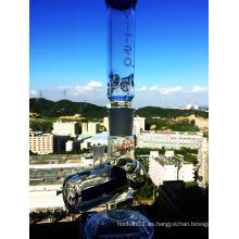 2016 al por mayor desmontable Inline Perc de vidrio de fumar pipa de agua con el precio de fábrica