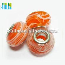 DIY bracelets spacer beads murano lampwork glass beads