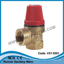 Brass Safety Relief Valve (V21-5201)