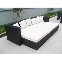 Садовая плетеная кровать размер дизайн и мебель
