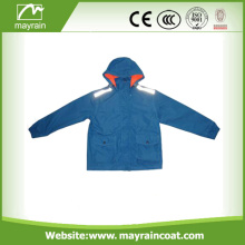 190T Polyester PVC Coated Rainening สำหรับเด็ก