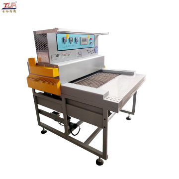 pvc patch making machine for baking with oven