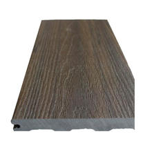 Superior Scratch Resistant Ultra Durable WPC 3rd Generation Co-Extrusion WPC Composite Decking