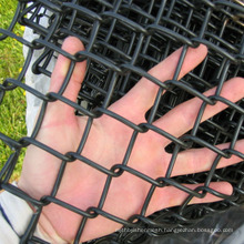 High quality galvanized 3ft garden chain link fencing