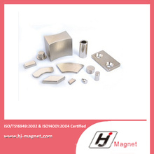 Various Shape NdFeB Magnet Designed in China Factory with High Power on Industry