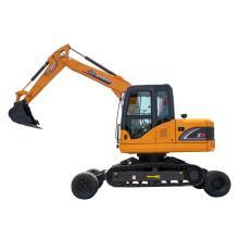 Rhinoceros brand X9 9 ton wheel and crawler excavator with Unique Patent design