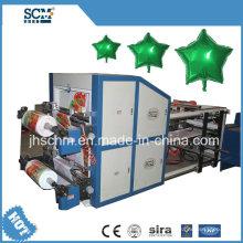 Máquina automática para fabricar globos controlada por computadora con película de aluminio PE