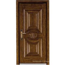 Porte blindée en bois d'acier de style turc (LTK-A037)