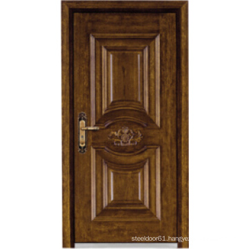Turkish Style Steel Wooden Armored Door (LTK-A037)
