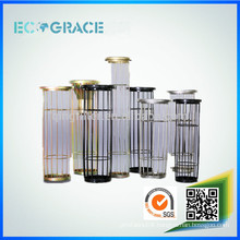 Customized dust collector filter bag bone cage with organic silicon spray treatment