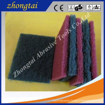Eco-Friendly silicon carbide/Aluminum oxide abrasive scouring pad material