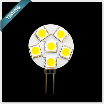 Runde 1.2W LED 6ST 5050SMD G4 Licht 60-80lm Acriche
