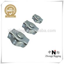 Zinc plaqué c15 fait dans le clip de corde de câble de porcelaine simplex