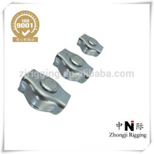 Zinc plated c15 made in china simplex wire rope clip