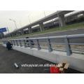 Poteau de clôture en acier galvanisé pour autoroute