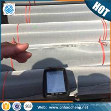 Intercambiadores de calor piezas de resistencia a la corrosión s32750 2507 super dúplex de acero inoxidable filtro de tela / ss de malla