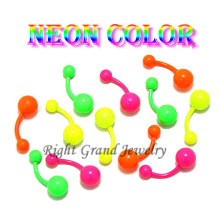 Colorful Anodized Navel Body Piercing Jewelry