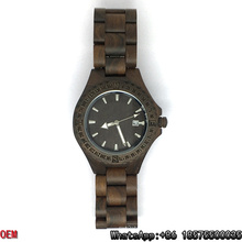 Top-Quality Wood Watches, Quartz Watch, Date Watch Hl06