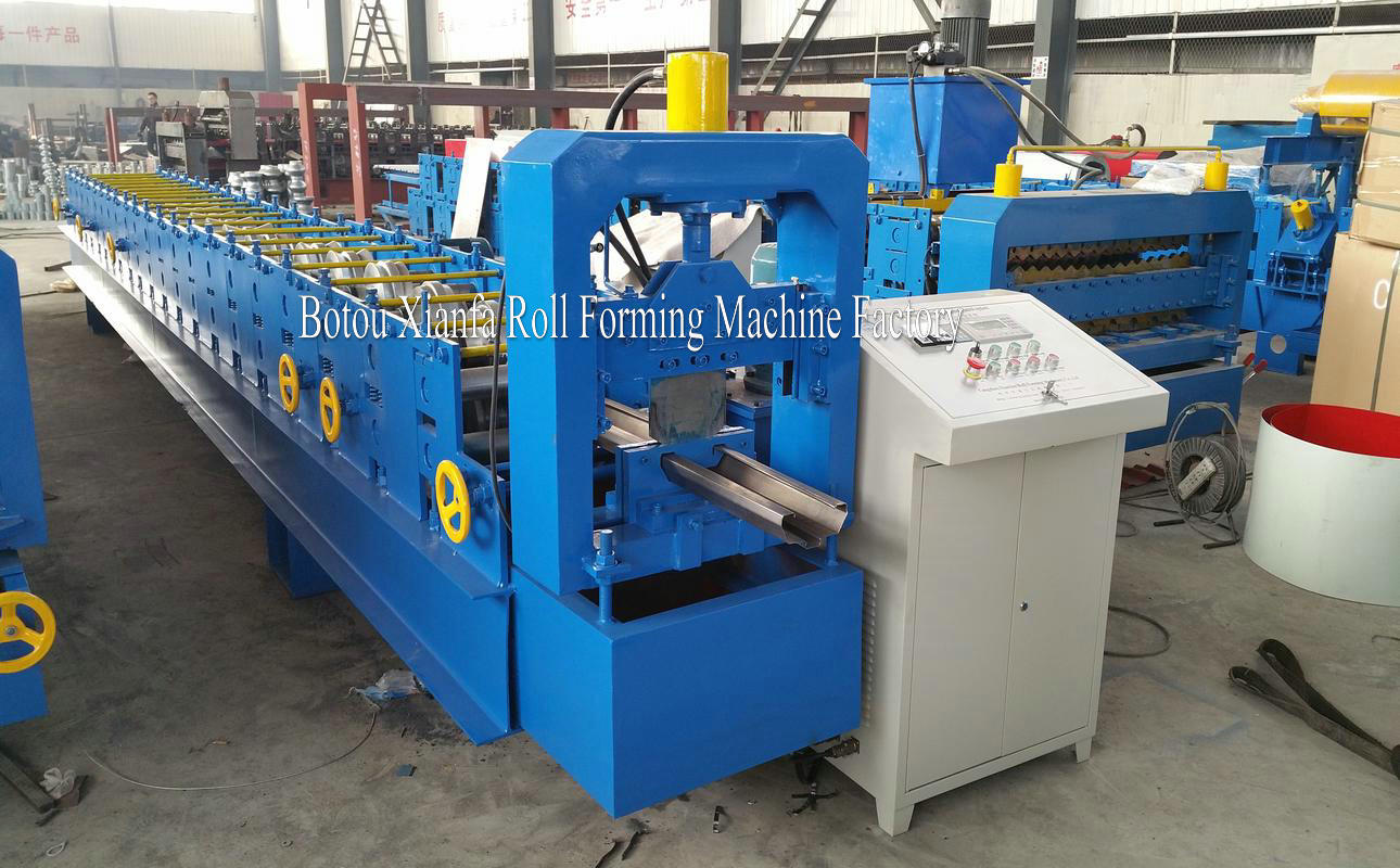 shutter door frame machine