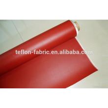 Tissu en fibre de verre revêtu de caoutchouc au silicone, tissu de silice isolant de haute qualité à haute température