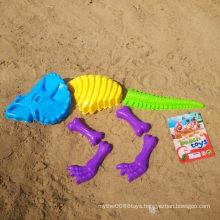 7PCS Dinosaur Bone Shape Beach Tool to Play Sand Toy Set
