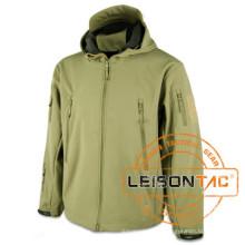 Waterproof Jacket Adopt Dryvin Fabric with Nylon Thread Stitching