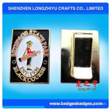 Money Clips with Customized Logo, Metal Money Clip, Money Clip (LZY081)