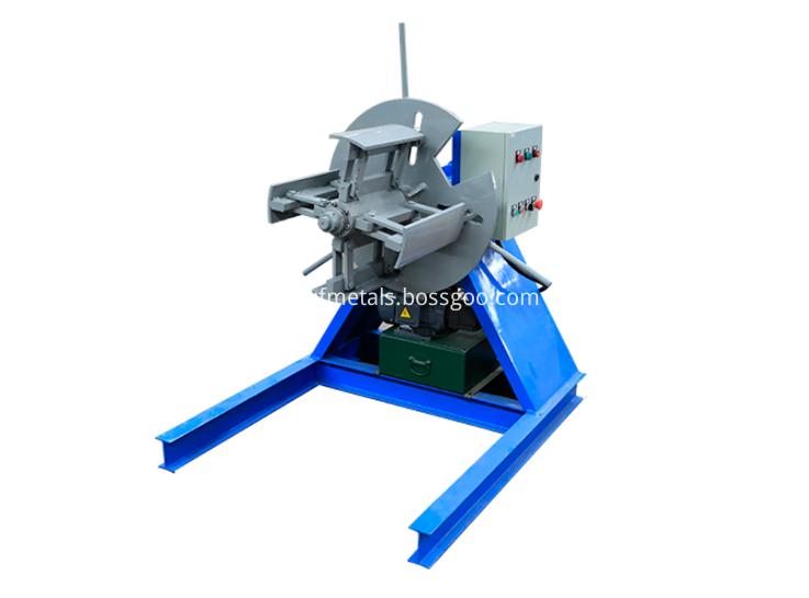5 tons hydraulic decoiler