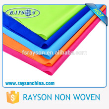 Fusing interlining stock lot nonwoven used for eco bags,furniture,table cloth