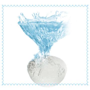 Esponja de limpeza de rosto saudável de konjac, 100% fibra de konjac