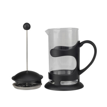 Haushalt Black Frame Glass Coffee French Press