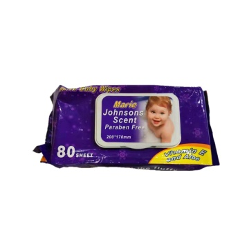 Private Label Sensitive Baby Tücher Baby Water Wipes