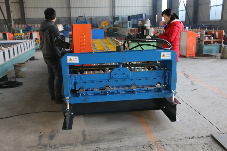 ibr automatic roll forming machine