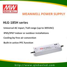 IP65 185W светодиод Power водозабору драйвер (Meanwell HLG - 185H)