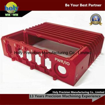 Peças fazendo à máquina eletrônicas do CNC das peças sobresselentes 6061-T6 do alumínio