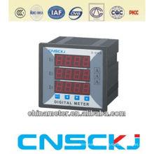 SCB-120X3-3I 120*120 digital three-phase ammeter