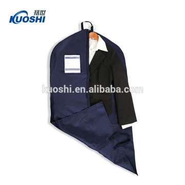 Garment bags with pocket for wedding dresses wholesale