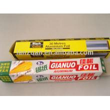 feuille d'aluminium pour wraping alimentaire