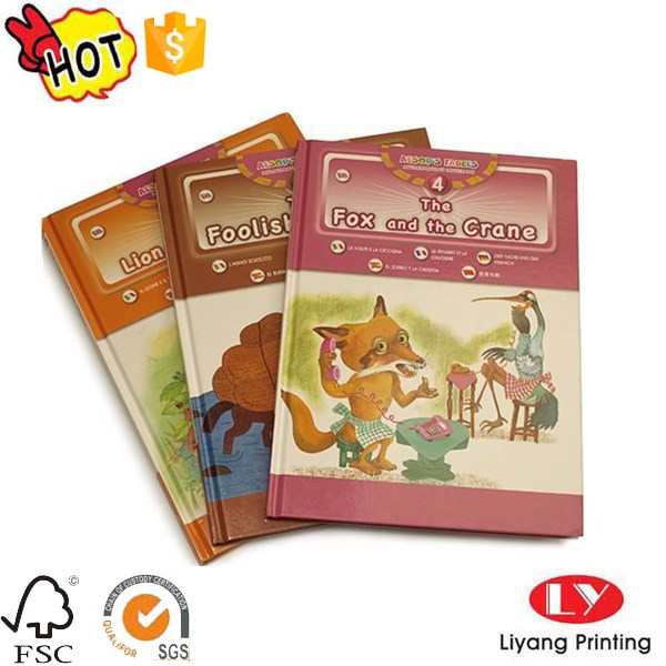 children storybook prnting