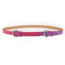 Fashion lady col combination pu leather belt