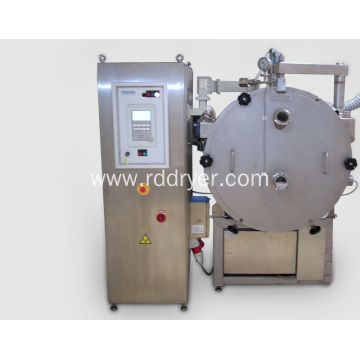 straw berry microwave vacuum drying machine