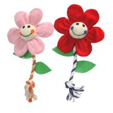 Dog Plush Rope Flower Toy, Pet Toy