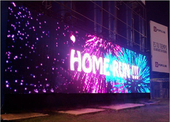 curtain wall led display
