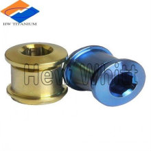 hot sale titanium chain ring Bolt for bicycle