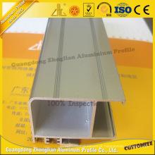 Perfil de Extrusão de Alumínio de Eletroforese Anodizado da China