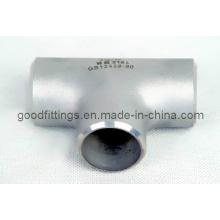 Acessórios para tubos de aço inoxidável, T igual igual PED 3.1