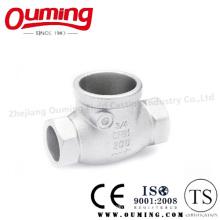 Литье из нержавеющей стали для обратного клапана с прецизионными вложениями (OEM / ODM)