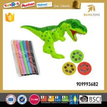 Niños dinosaurio pintura juguete proyector
