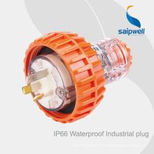 Saipwell однофазный 56P310 IP66 250VAC 10A промышленный разъем с SAA